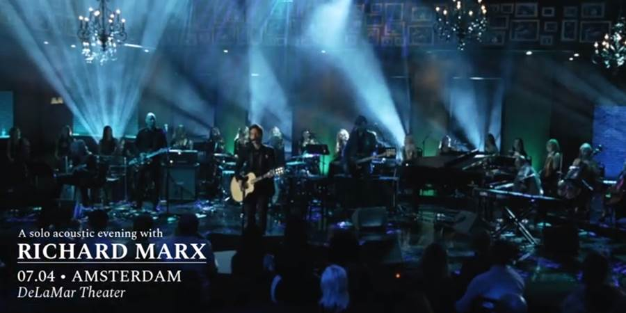 Richard Marx DeLaMar Theater Video